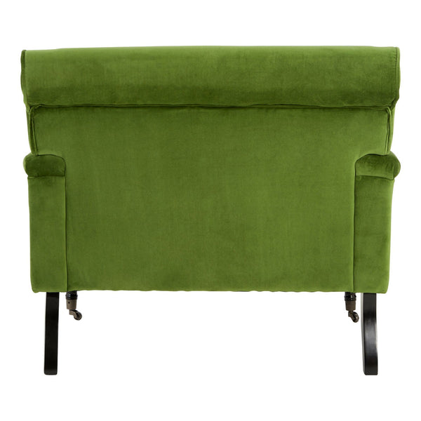 Green Velvet Loveseat