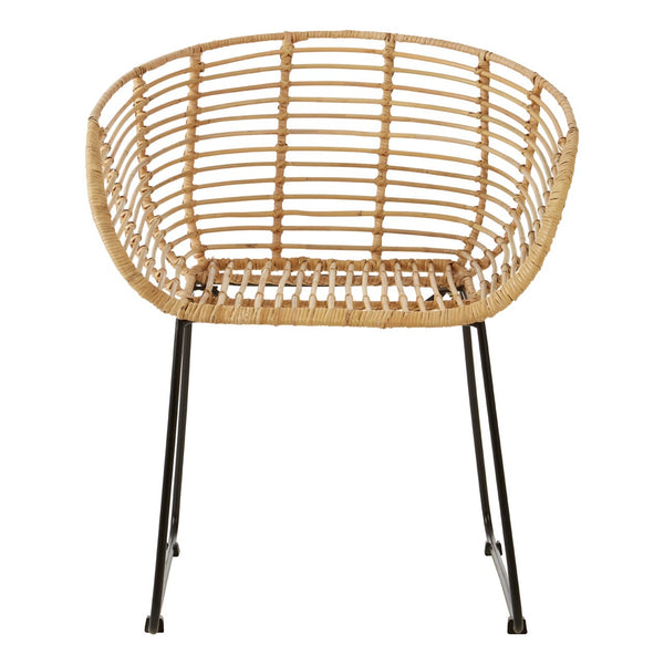 Rattan Rounded Chair