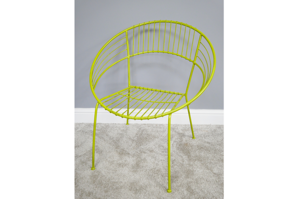 Lime Retro Garden Chair