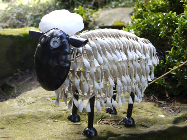 Metal Garden Sheep Small,  - Olive and Sage, Olive and Sage  - 1