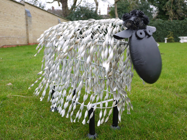 Metal Garden Sheep X Large,  - Olive and Sage, Olive and Sage  - 4