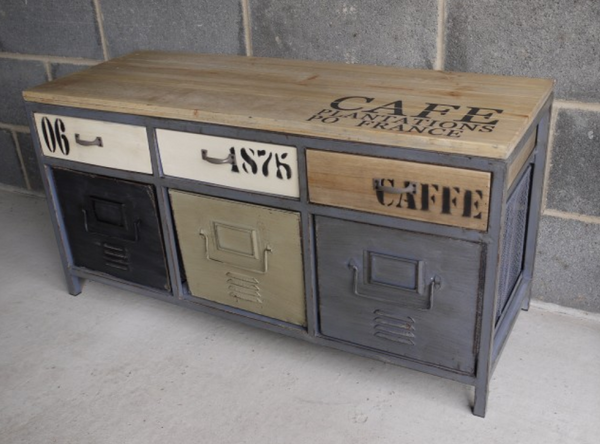 Cafe Industrial Cabinet