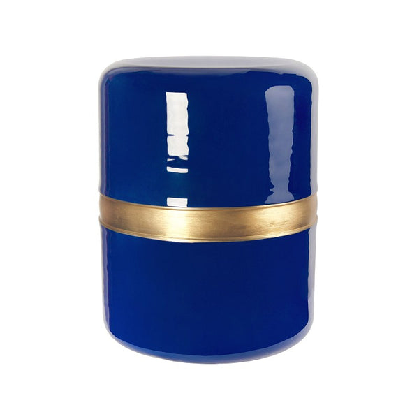 Navy Drum Stool