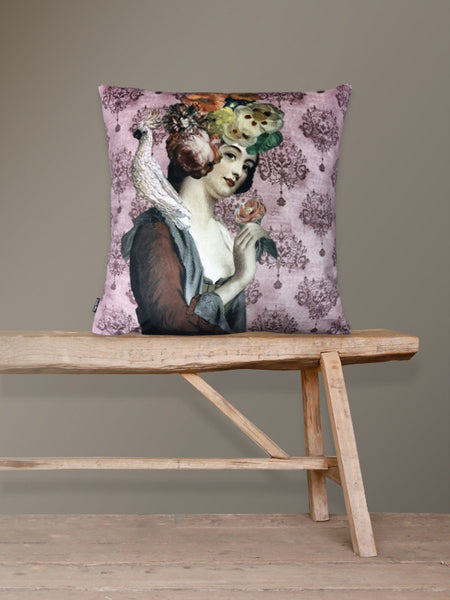 Rosalil Velvet Cushion
