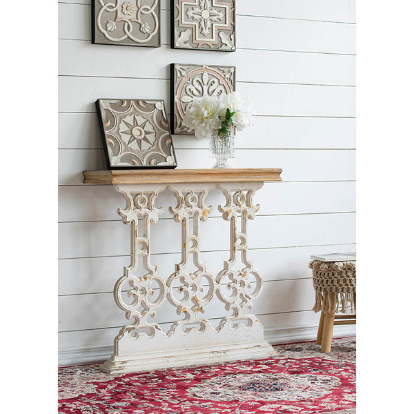 Scrolled Console Table