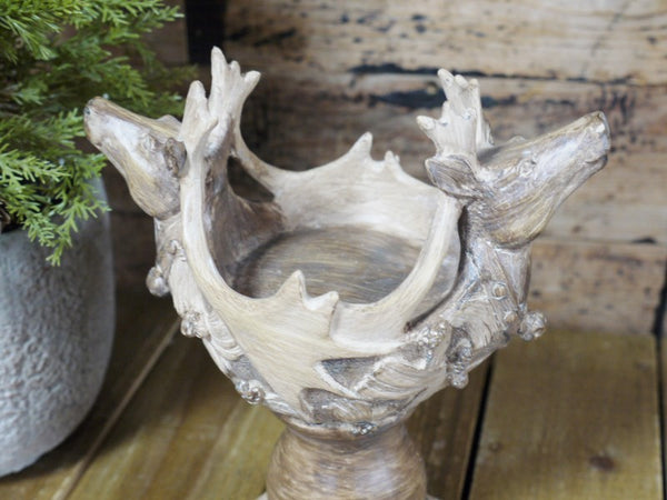 Deer Candle Holder