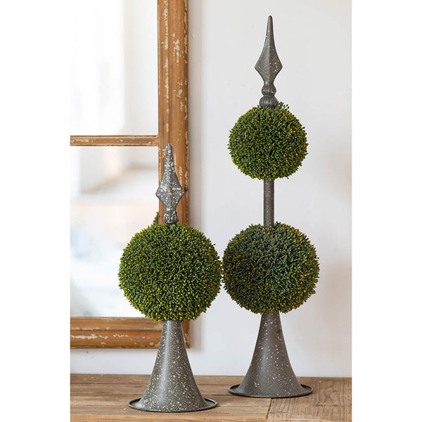 Double Faux Topiary