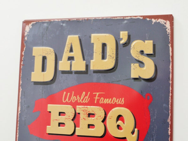 Dads BBQ Plaque