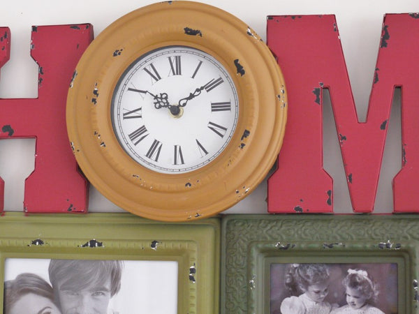 Home Clock & Frame ,  - Olive and Sage, Olive and Sage  - 2