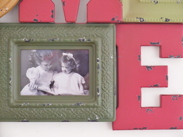 Home Clock & Frame ,  - Olive and Sage, Olive and Sage  - 3