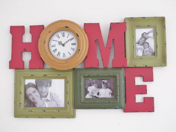 Home Clock & Frame ,  - Olive and Sage, Olive and Sage  - 1