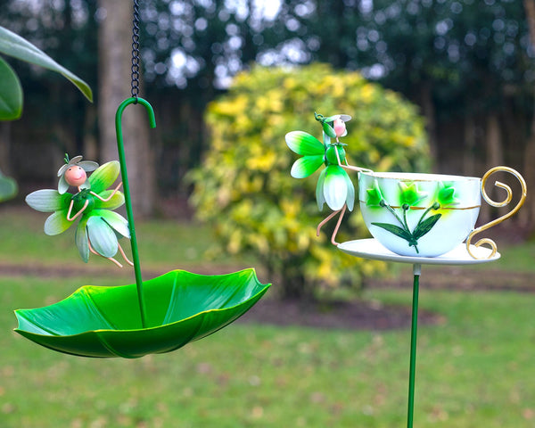 Fairy Snowdrop Feeders