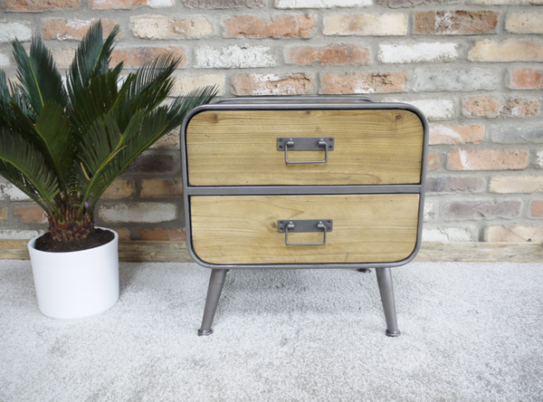 Retro Industrial Bedside