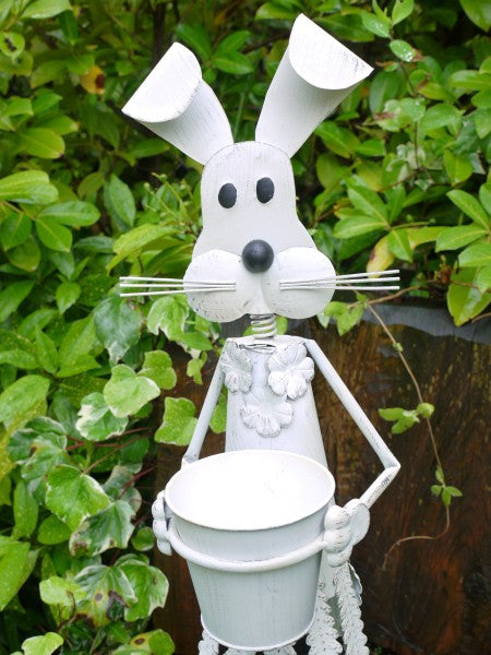 Tall Rabbit Planter