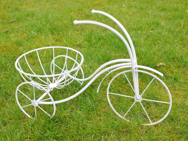 Quirky Metal Bike Planter ,  - Olive and Sage, Olive and Sage
