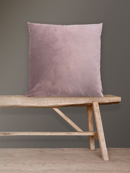 Mauve Velvet Cushion