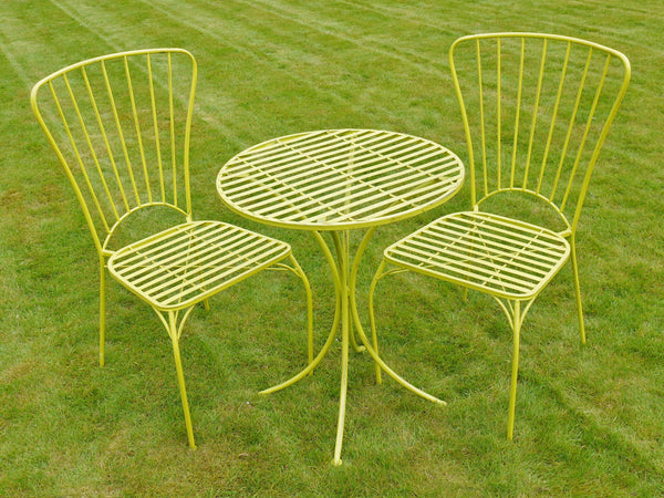 Retro Bistro Set Chilli Green,  - Olive and Sage, Olive and Sage  - 9