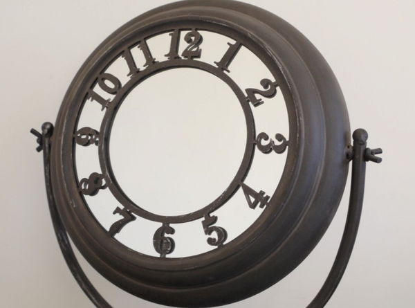 Retro Number Mirror
