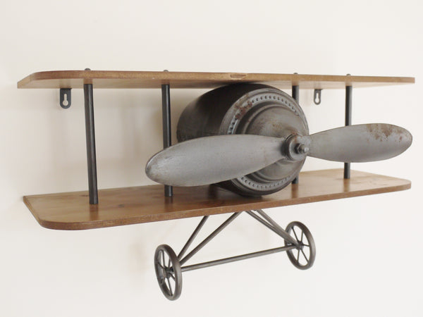 Retro Aeroplane Shelf ,  - Olive and Sage, Olive and Sage  - 1