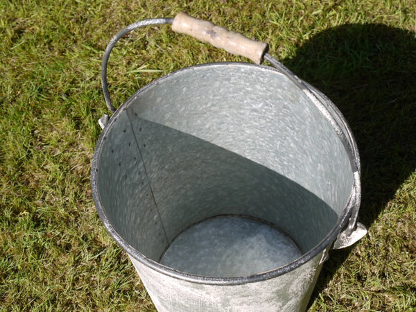 Galvanised Bucket ,  - Olive and Sage, Olive and Sage  - 3