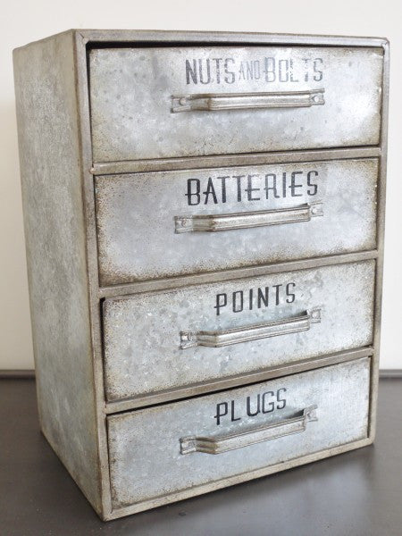Galvanised Chest ,  - Olive and Sage, Olive and Sage  - 2
