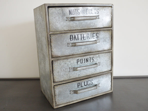 Galvanised Chest ,  - Olive and Sage, Olive and Sage  - 1