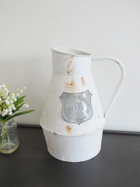Shabby Chic French Jug ,  - Olive and Sage, Olive and Sage  - 2
