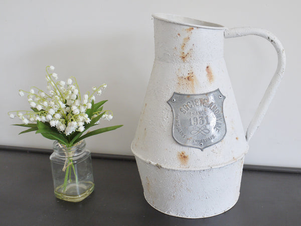 Shabby Chic French Jug ,  - Olive and Sage, Olive and Sage  - 1