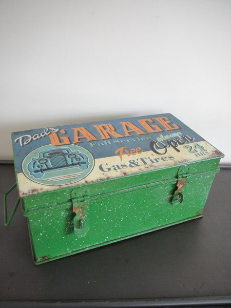 Vintage Storage Box ,  - Olive and Sage, Olive and Sage  - 2