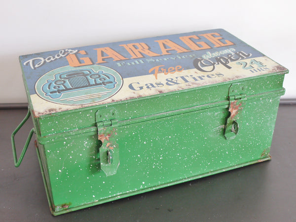 Vintage Storage Box ,  - Olive and Sage, Olive and Sage  - 1