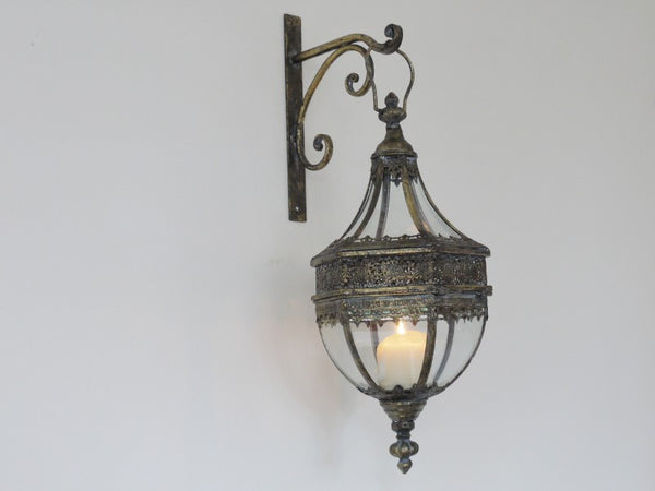 Marrakech Wall Lantern ,  - Olive and Sage, Olive and Sage  - 2