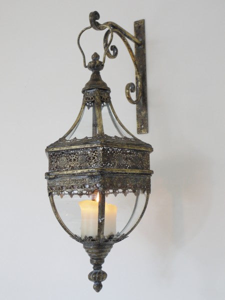 Marrakech Wall Lantern ,  - Olive and Sage, Olive and Sage  - 3
