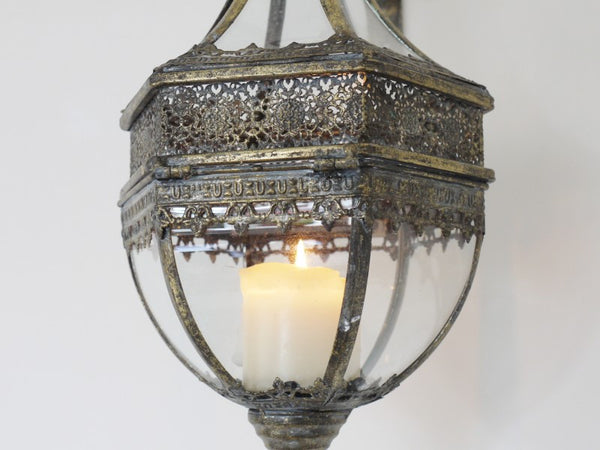 Marrakech Wall Lantern ,  - Olive and Sage, Olive and Sage  - 4