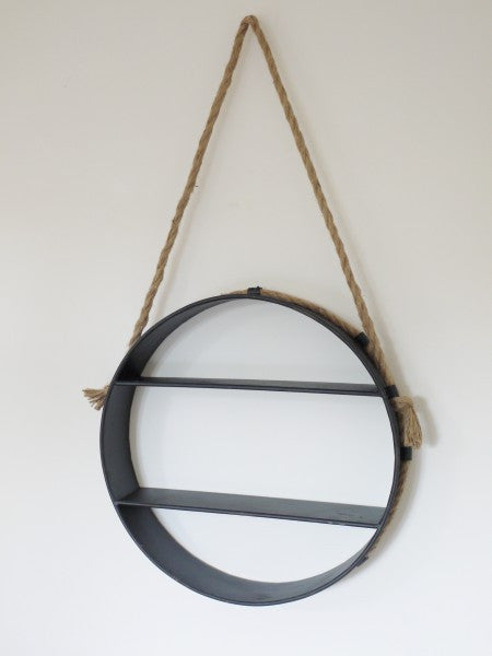 Round Hanging Shelf ,  - Olive and Sage, Olive and Sage  - 2