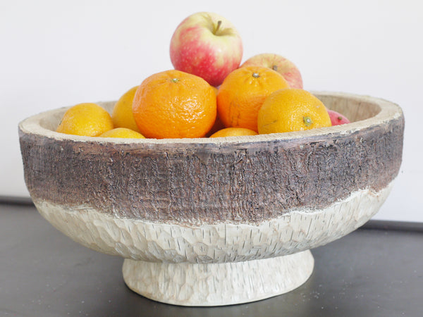 Wood Effect Bowl ,  - Olive and Sage, Olive and Sage  - 1