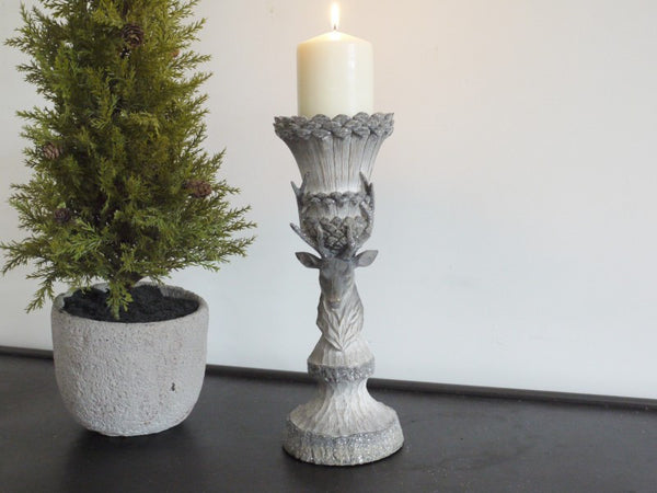 Rustic Stag Candle Holder ,  - Olive and Sage, Olive and Sage  - 2