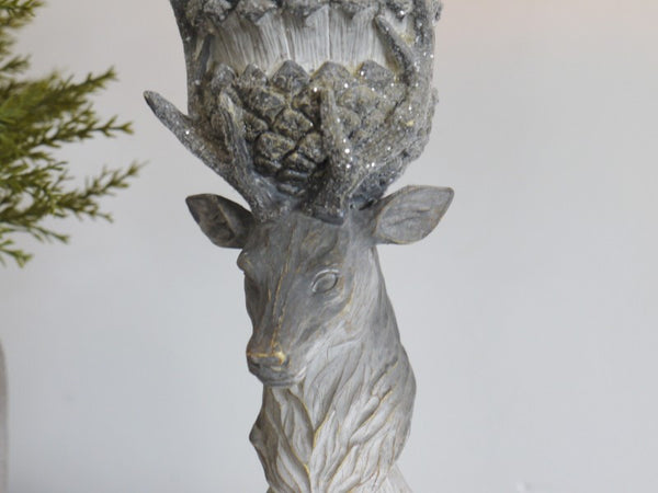 Rustic Stag Candle Holder ,  - Olive and Sage, Olive and Sage  - 3