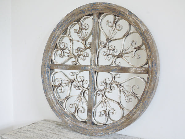 Barcelona Wall Mirror ,  - Olive and Sage, Olive and Sage  - 1