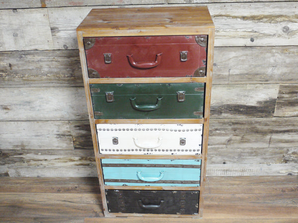 Tall Vintage Chest