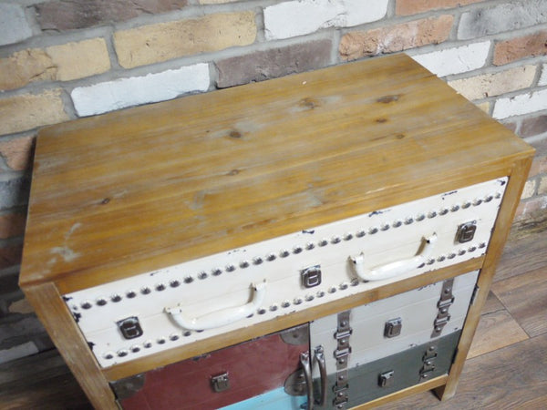 Vintage Luggage Chest