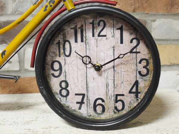 Vintage Bike Clock ,  - Olive and Sage, Olive and Sage  - 2