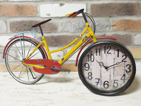 Vintage Bike Clock ,  - Olive and Sage, Olive and Sage  - 1