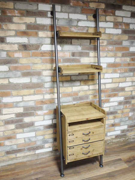 Ladder Style Drawer and Shelves