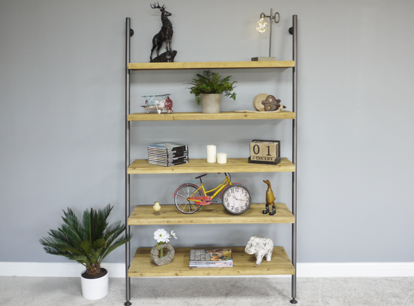 Ladder Style Shelves