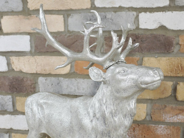 Large Silver Stag