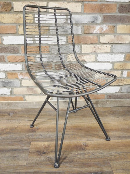 Unusual Metal Chair