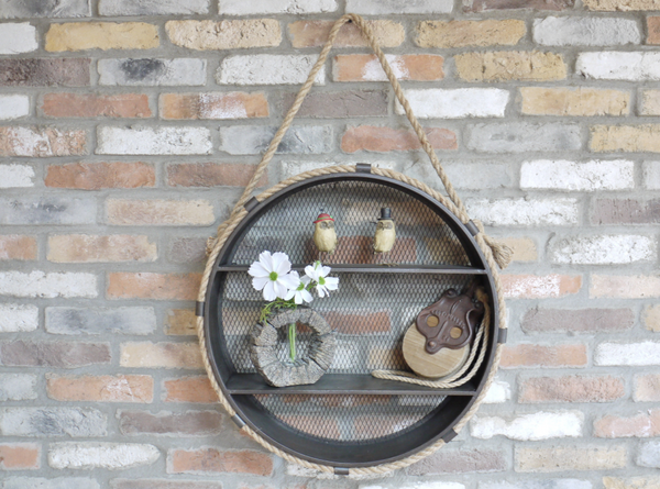 Round Hanging Shelf