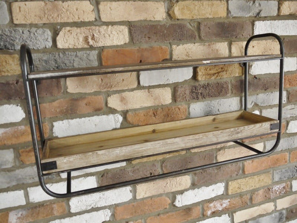 Retro Industrial Shelf