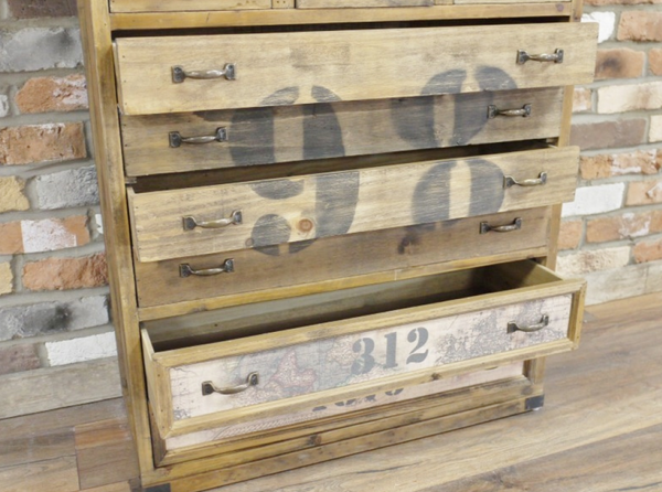Quirky Drawer Unit