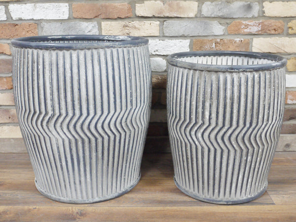 Set of 2 Dolly Tubs